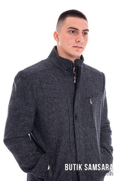 butik samsara zrenjanin muski tamno sivi kaput 018