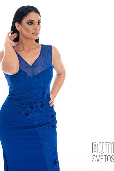 butik samsara zrenjanin zenska duga plava haljina 011