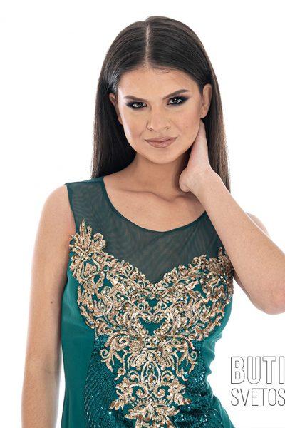 butik samsara zrenjanin zenska zelena haljina 014